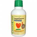 Liquid Calcium with Magnesium, Natural Orange Flavor